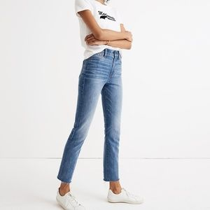 NWOT Madewell Petite Perfect Vintage Jean